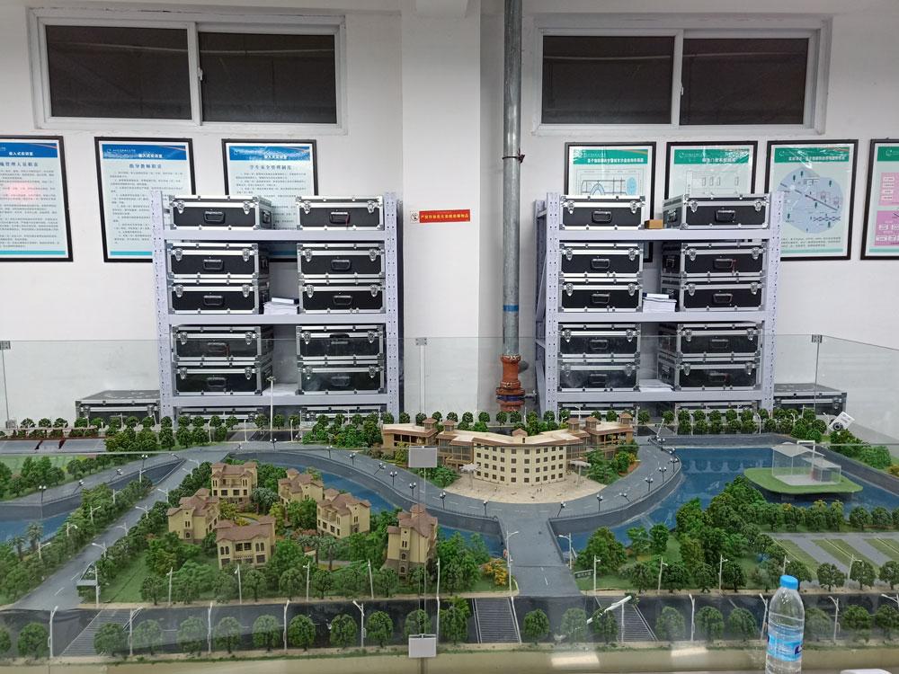 四川信息职业技术学院人工智能实训室顺利竣工