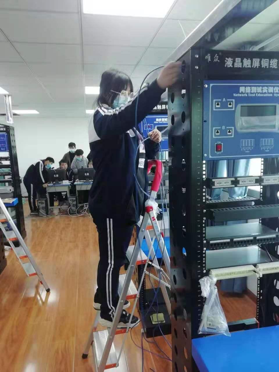 网络智能化安防系统安装与维护实训基地