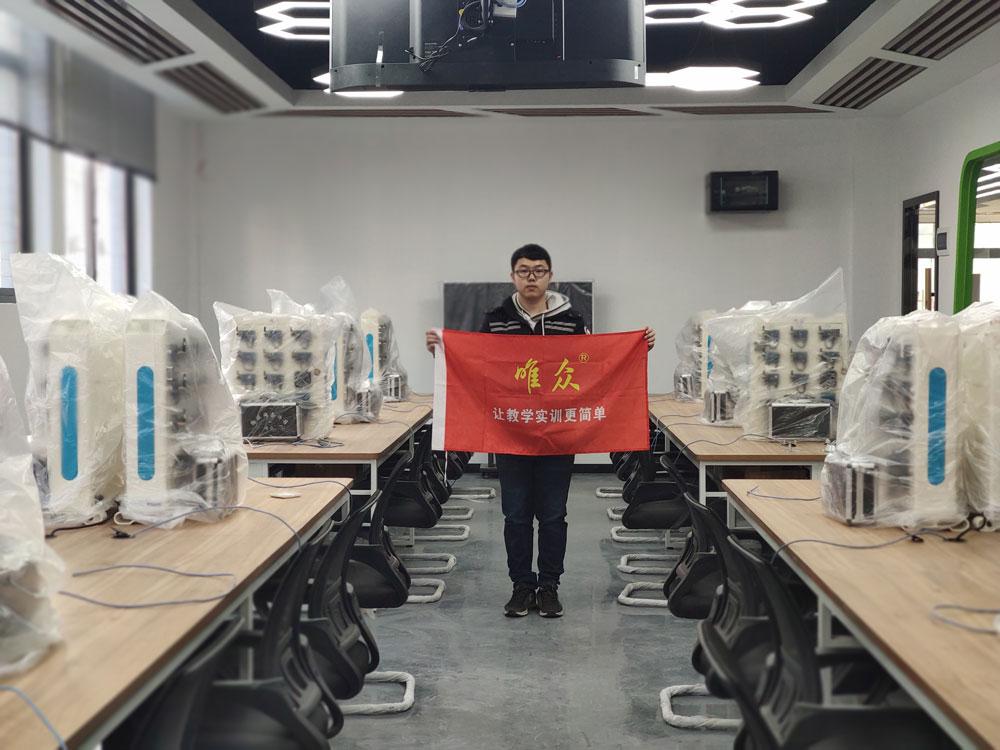 湖北生态工程职业技术学院信息机电学院智慧林业物联网实训室竣工